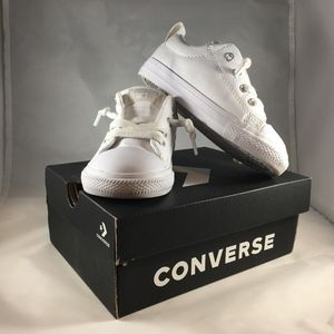 Converse White sneakers leather Infant